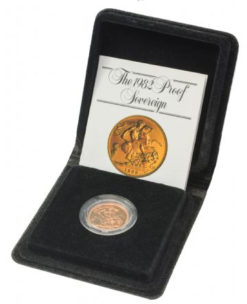 1982 Proof Full Gold Sovereign